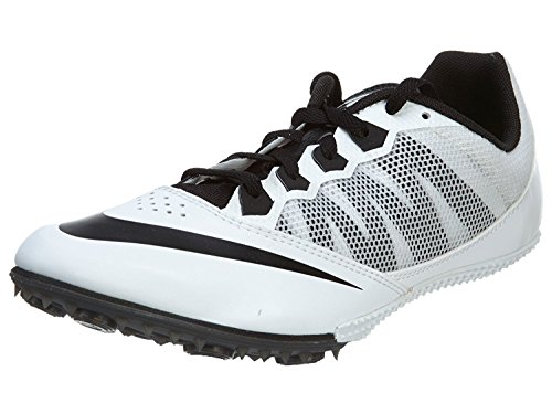 Nike Rival S Track Spikes Shoes Mens size 11 (Black, White)