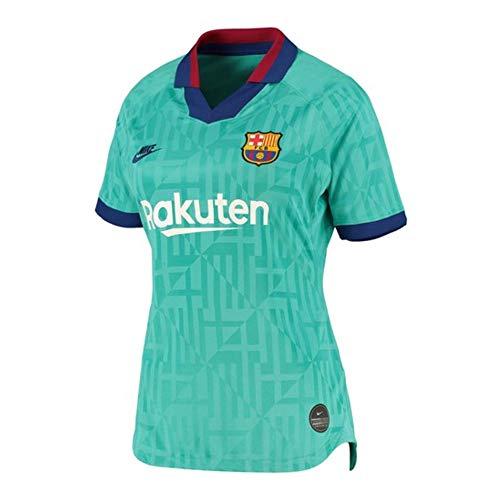 Nike 2019-20 FC Barcelona Womens Third Jersey - Teal L