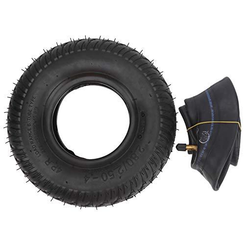EFFACER Neumático de Goma, Neumático de Scooter de Movilidad para Ancianos Neumático de Scooter de Movilidad 2.80‑2.50‑4 Neumático para Scooter eléctrico para Silla de Ruedas eléctrica para Scooter