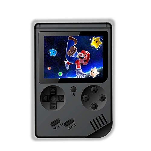Rongyuxuan Console di Gioco Portatile, Game Console 3 Pollici 168 Giochi Retro FC Game Player Console per Videogiochi con Carica USB per Bambini Genitori Amici