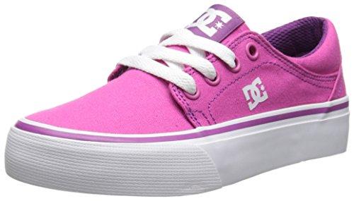 DC Shoes Trase TX - Zapatillas bajas para niña, Fucsia (Fuchsia), 31