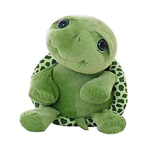 Fsnsi Toys Schildkröte Plüschtier Kurzer Plüsch Kuscheltier Baby Spielzeug für Geburtstag Festival Geschenk Mädchen Hochzeit