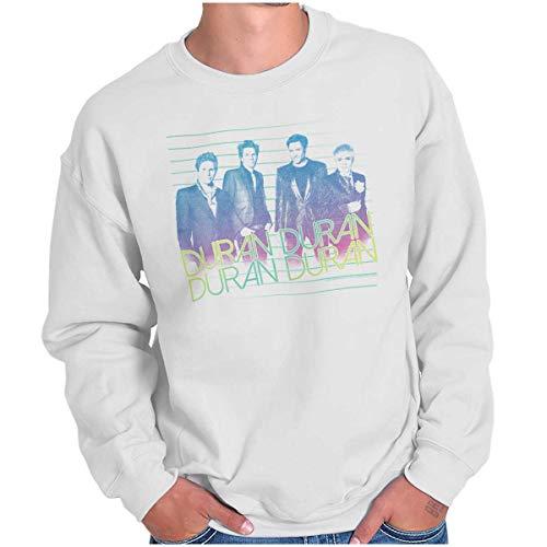 Duran Duran Photo Sweatshirt, White, S to 5XL