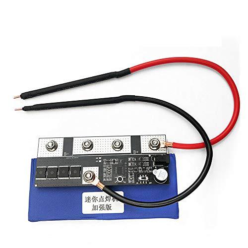 Soldador por puntos de batería soldadora para 18650/26650/32650 caja de batería Asamblea soldadura DIY casero cinta de níquel