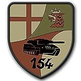 Copytec Patch PzBtl 154 Westerburg Wappen B&eswehr Abzeichen Panzerbataillon #3247