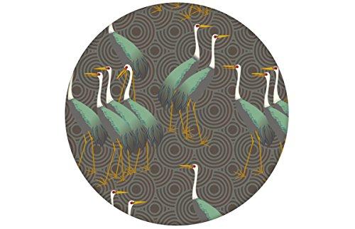 Feine grüne Vogel Tapete