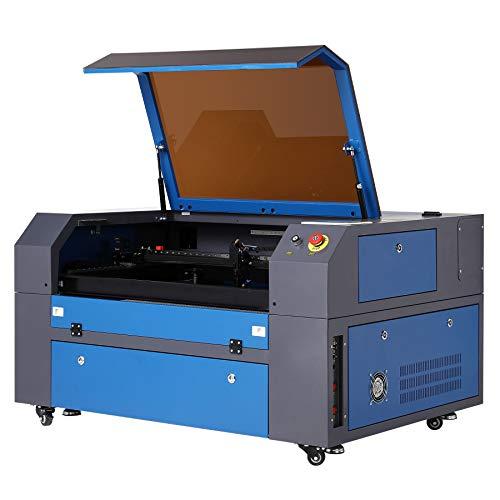 Orion Motor Tech 60W Máquina de Grabador Láser de CO2 Máquina de Grabador Láser 500x700mm Grabadora Láser Profesional con LCD Digital Puerto USB/Bomba de Aire/Software RDWorks(60W 500X700mm)