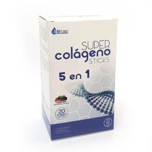 Science & Health Sbd Super Colageno 5 En 1-20 sticks