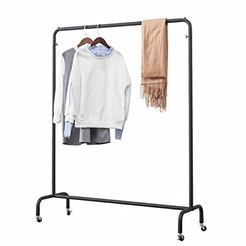 SZQ Percheros burro La ropa al aire libre de Rod, la capa de metal Barra horizontal Simple rack multifunción ropa rack puede moverse entre bastidores mercado nocturno de ropa soporte de exhibición , P