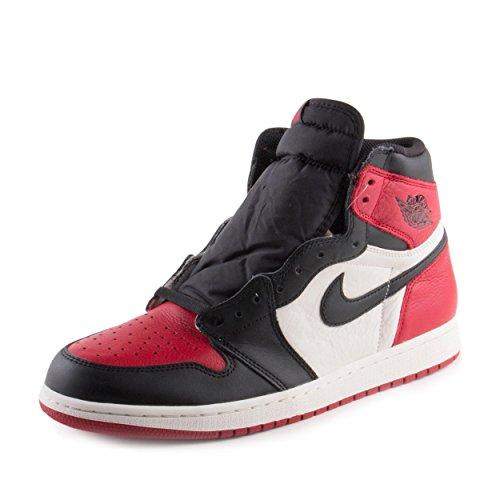 Air Jordan 1 Retro High OG 'Bred Toe' - 555088-610 - Size 11.5 -
