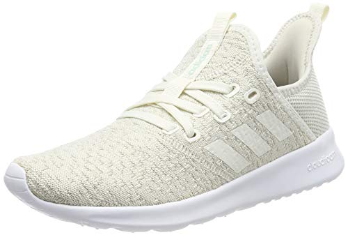 adidas Cloudfoam Pure, Zapatillas de Running, Blanco (Cloud White/Cloud White/Ice Mint Cloud White/Cloud White/Ice Mint), 36.5 EU