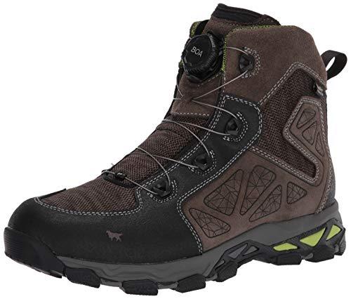 Irish Setter Men's Ravine Waterproof Hiking Boot, Brown/Lime Green, 11 2E US
