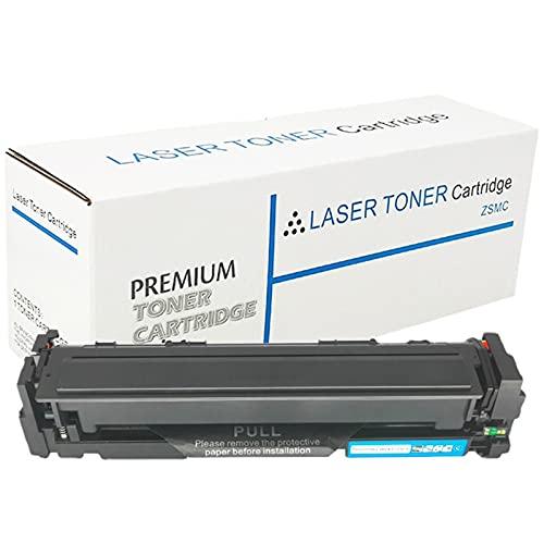 AZXZ Compatible con HP HP M254DW M254NW M281FDW M280NW Cartucho de tóner CF500A 202A Cartucho de tóner Blue
