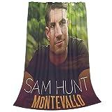 Sam Hunt Fleece Blanket Sofa Blanket Bedding Super Soft Warm Lightweight Suitable for All Seasons