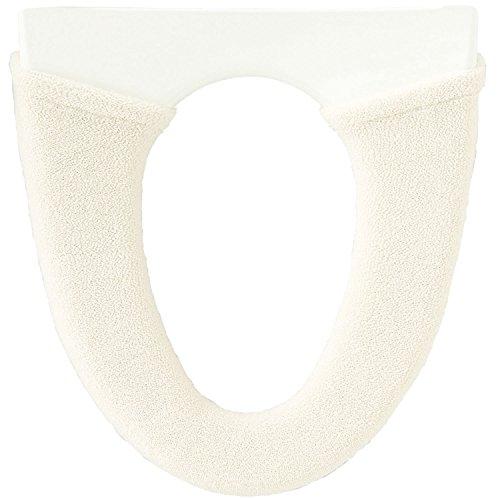 オカ うちねこ 洗浄暖房型専用 トイレ便座カバー (ホワイト)