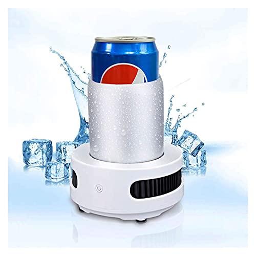 LOYSEN Taza de enfriamiento eléctrica de Verano, Enfriador de Bebidas de Escritorio de 380 ml, Enfriador de Bebidas Extremadamente rápido, Enfriador de Tazas de refrigerador portátil