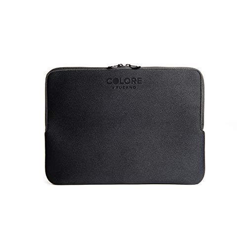 Tucano Second Skin Colore Neopren-Hülle für widescreen Notebooks 43,2 cm (17 Zoll) & 45.7cm (18 Zoll), schwarz
