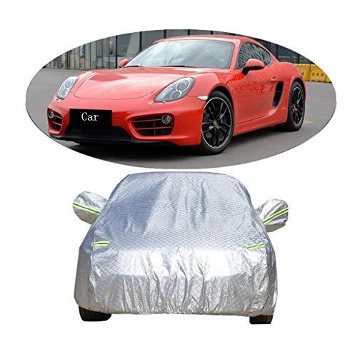 Couverture de voiture Compatible avec la voiture de sport d'épaisseur de voiture de sport de Cayman de Porsche couverture de voiture d'écran solaire de pluie anti-poussière housse de voiture