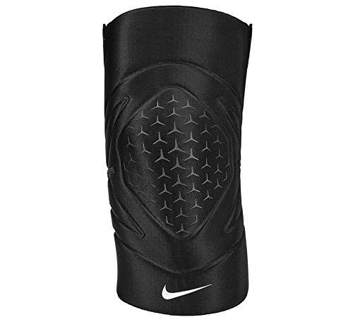 Nike Unisex– Erwachsene Knieschoner-9337-42 Knieschoner, 010 Black/White, M