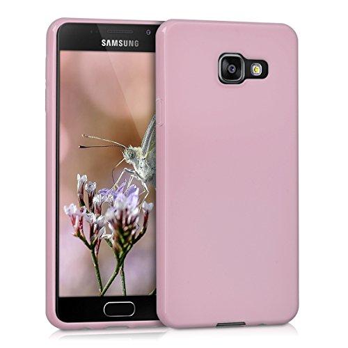 kwmobile Hülle kompatibel mit Samsung Galaxy A3 (2016) - Handyhülle - Handy Case in Altrosa