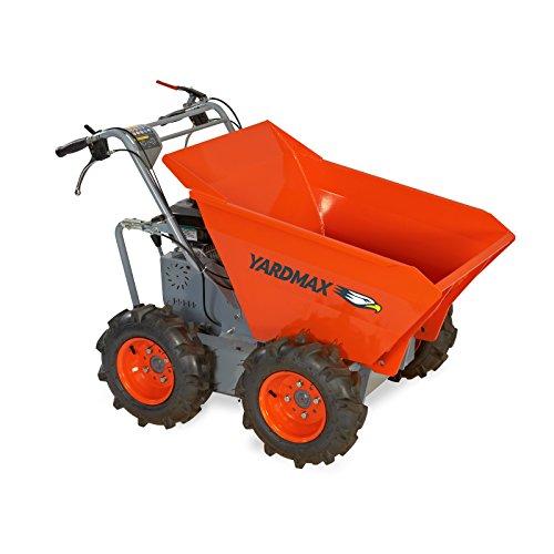 YARDMAX YD4103 Power Wheel Barrow, 660 lb. Capacity, Briggs CR950, 6.5 hp, 208cc