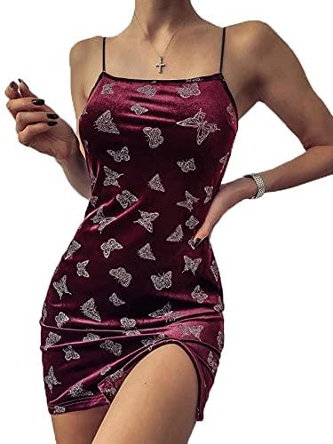 Camiseta De Vestido Sexy con Falda Corta Y Falda Corta con Empalme Estampada para Mujer De Verano