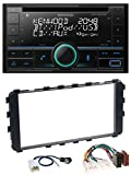 caraudio24 Kenwood DPX-5200BT AUX MP3 CD Bluetooth USB 2DIN Autoradio für Toyota Yaris 2006-2011 OEM-Navi