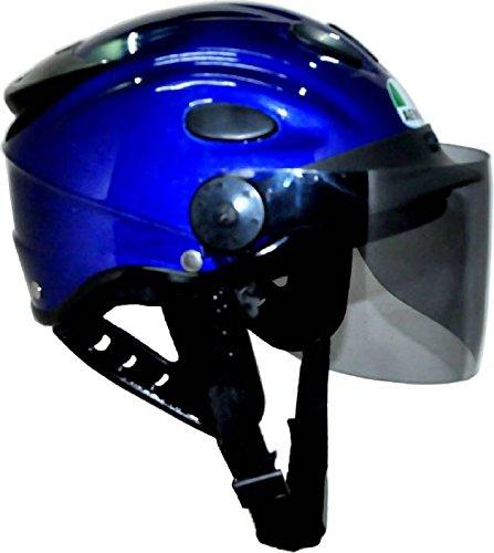 Kart Trade Aeroh Urban Half Face Unisex Helmet (Blue,M)