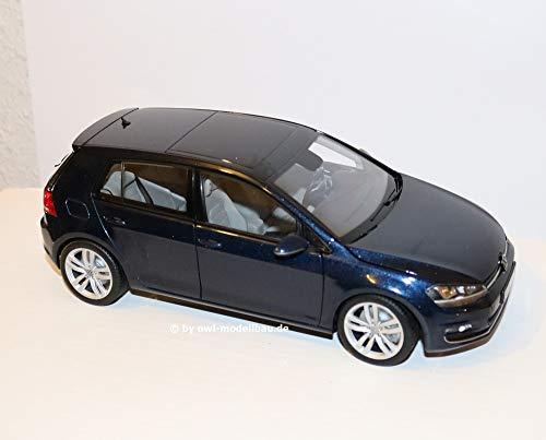 VW Golf VII, metallic-dunkelblau, Modellauto, Fertigmodell, I-Norev 1:18
