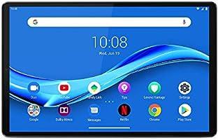 Lenovo Tab M10 FHD Plus Tablet (10.3-inch, 2GB, 32GB, Wi-Fi + LTE, Volte Calling), Platinum Grey