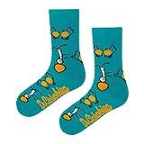 DrSoftStep Socken | 41-46 | Lustig Bequem Geschenk | Geburtstag | Arbeit Job | Physiosox