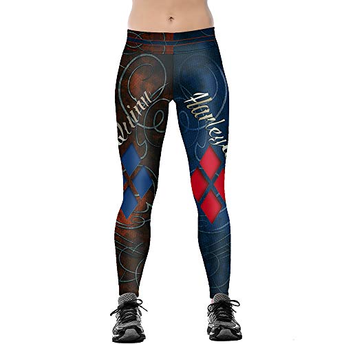 41kwe-7n3QL Harley Quinn Yoga Pants