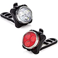 Vont Pyro USB Rechargeable Bike Light Set
