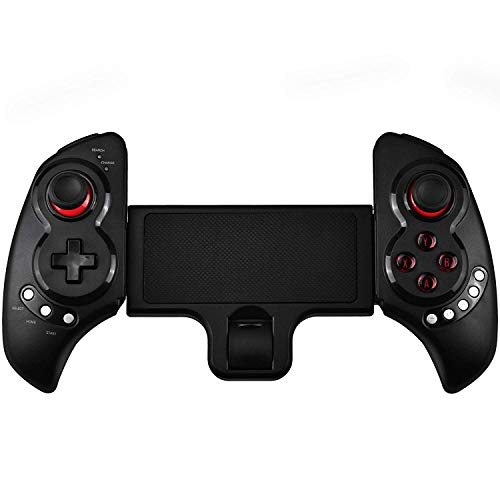 YANGSANJIN Android Controller, Wireless Controller Joystick toekomst Warrior Game Controller voor Android Tablet PC TV Box, Mobile Controller voor iPhone/iPad, Wireless Gamepad Handy Controller
