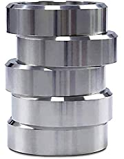 N/F Bisquette Saver voor Bradley Roker,Upgrade Versie Aluminium Hout Spacer Pucks BBQ (5 stuks)