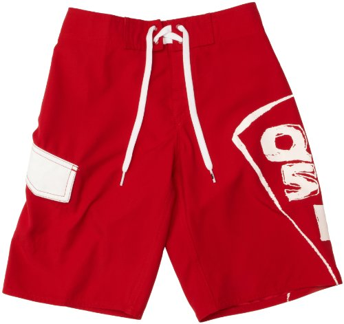 Quiksilver Izaro Youth - Bañador de natación para niño, tamaño 14 años, Color Quik Red