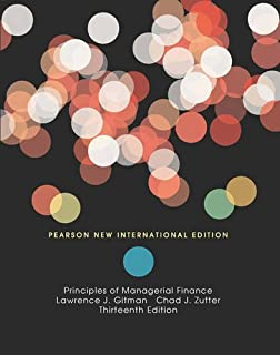 Principles of Managerial Finance, Brief Pearson New International Edition, plus MyFinanceLab without eText