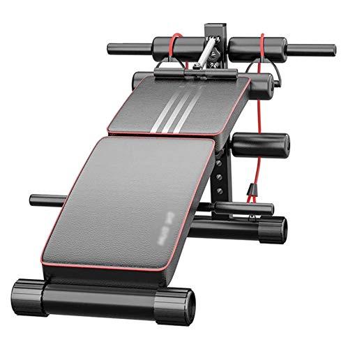 HaoLi Fitness Core & AB Trainers Tabla supina Gimnasio Equipo de Fitness y Ejercicios Abdominales, Abdominales multifuncionales Equipo de Ejercicio en casa, Entrenador de músculos Abdominales,