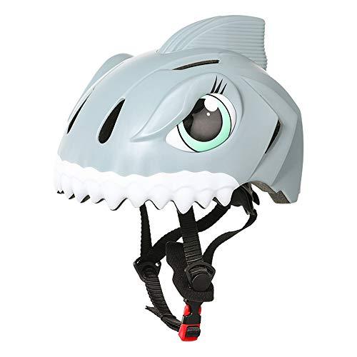 JUZIPI Casco de bicicleta para niños de 2 a 5 años, para niños y niñas, casco de skate para bicicleta, monopatín, scooter, motocicleta, certificado CPSC, cascos de protección de 49 a 55 cm