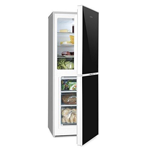 Klarstein Luminance Frost - nevera con congelador, refrigerador de 98