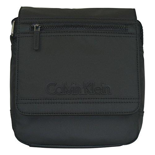 Calvin Klein Jeans heren METRO REPORTER WITH FLAP schoudertassen, zwart (black 001), 20x20x7 cm