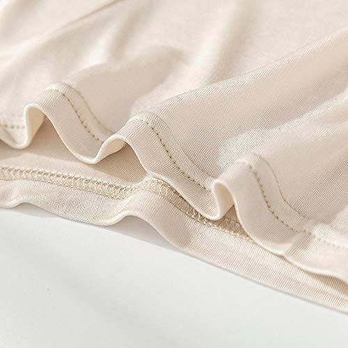 Bóxer para HombreMulberry Silk Ropa Interior de Seda para Hombre de Cintura Media Deportiva-VS_SG