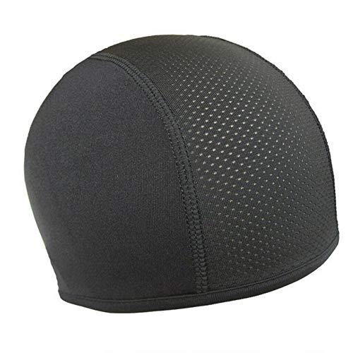 LOMAX Durable Helm innere Kappe, Mütze schnelltrocknatmungs Kappe Hut-Kappe Helmkalotte Hut Feuchtigkeitstransport Motorrad-Dekoration (Color : 1pc)