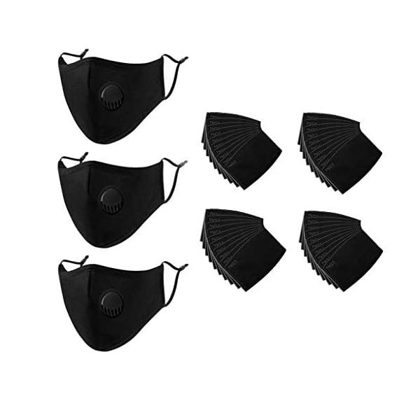 Pack 50 unidades NING-M0707A069 NINGNETI Infantil 3 Capas Transpirables Bandana con banda El/ástico para al Aire Libre C