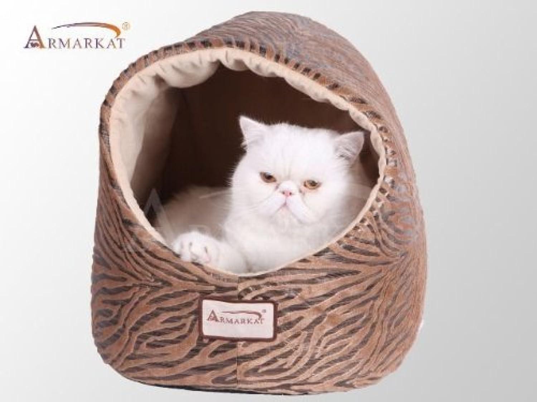 Armarkat Cat Bed, Bronzing and Beige