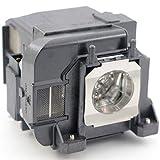 Original für ELPLP71 / V13H010L71 ErsatzProjektorlampe Beamerlampe UHP 215W Glühlampe mit Gehäuse für NOSPE EB-470 EB-480 EB-480E EB-475W EB-475Wi EB-485W EB-485Wi EB-1400Wi EB-1410Wi Projektoren