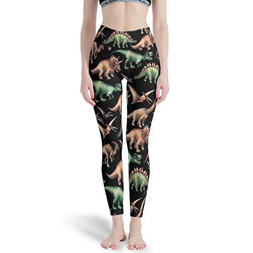 Dogedou Printed Yoga Hosen Damen Dragon Yogahose für Gym White 3XL