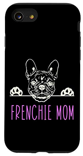 iPhone SE (2020) / 7 / 8 Frenchie Mom with French Bulldog Case