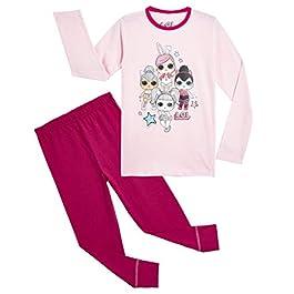 Pyjamas de poupées pour Filles Ensemble de Pyjama en Coton Doux Confetti Pop Lil Sisters
