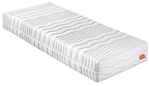 sleepling 7-Zonen Kaltschaummatratze Wendematratze Bodyprotect 500 Duo Härtegrad 2 & 3 100 x 200 x 21 cm, weiß